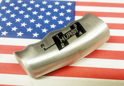 Hurst Competition Plus Shift Aluminum T Handle Knob Ball 4 Speed For 3/8-16 Inch