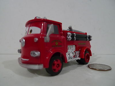 DISNEY PIXAR CARS 2 RED THE FIRE ENGINE #3 DIECAST OVERSIZE DELUXE !!!