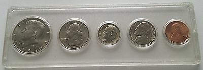 1982 P US Set 5 MS UNC Coins in Whitman Hollder Lincoln Penny - Kennedy Half