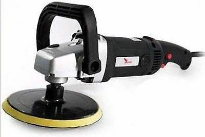 """Deltalyo SIM180 7"""" Variable Speed Electric Polisher 180mm Mopping Detail"""