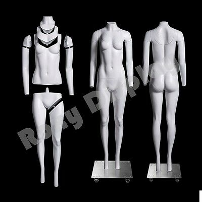Fiberglass Female Invisible Ghost Mannequin Dress Form Display #MZ-GH2-S