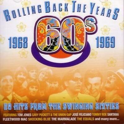 Rolling Back the Years - 60s: 1968 - 1969 CD (2005) Expertly Refurbished Product