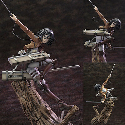 ARTFXJ Attack on Titan Mikasa Ackerman 1/8 PVC Figure Kotobukiya