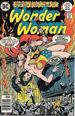 Wonder Woman Comic Book #227, DC Comics 1977 VERY FINE/NEAR MINT