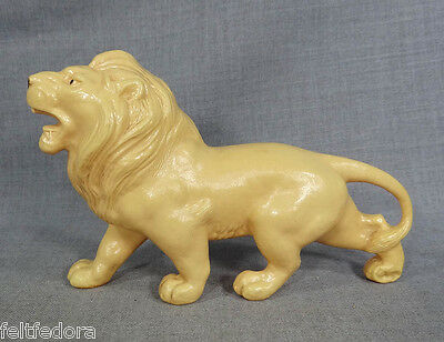 1935 ANTIQUE RUSSIAN CELLULOID TOY FIGURE FIGURINE PROUD AFRICAN LION KING OHK