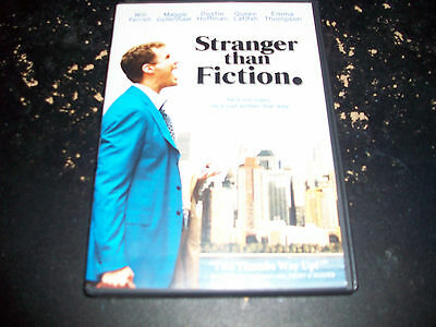 COMEDY MOVIE: STRANGER THAN FICTION!!! USED & IN EXCELLENT CONDITION!!!!!!