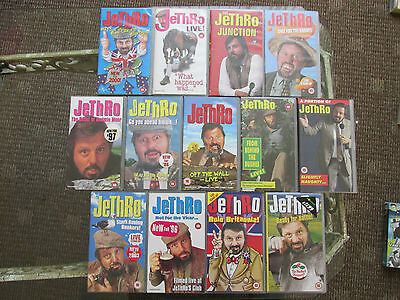 VHS Jethro Tapes Job Lot