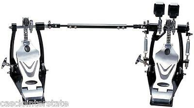 Union Double Bass Drum Pedal DDPD-669 700 Chain Drive w/ Bag Fast Ship
