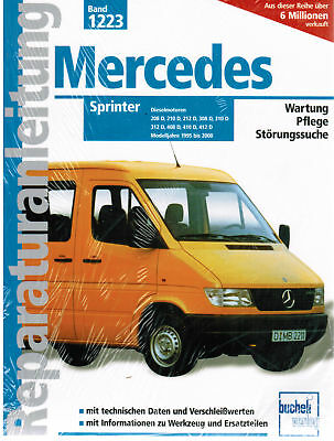 Libro Manual De Servicio Mercedes Sprinter Año Construcción 1995 - 2000 Band1223