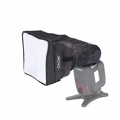 Movo Photo SB6 Soft Cloth Softbox Diffuser for DSLR Camera Flash (Mini)