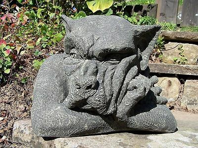 DS73 Wall Top Gargoyle rechts orginal Devonshire Statuary Steinguss