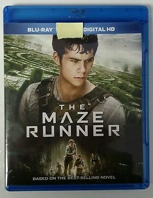 The Maze Runner (Bluray Disc and Unused Digital Copy, 2014)