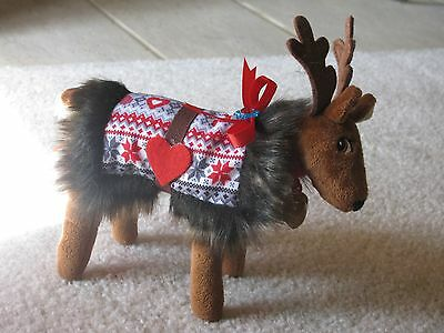 BLANKET FOR RUDOLPH Fits Elf on the shelf Reindeer plush Ugly Sweater
