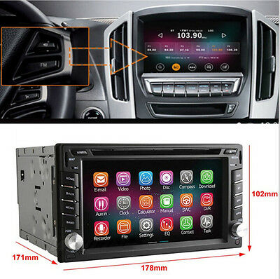 2 Din Android4.4 Quad Core 2G/16G USB/SD Car In-Dash DVD Player GPS FOR NISSAN C
