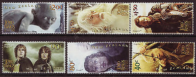 New Zealand 2003 Lord Of The Rings Part 3  Unmounted Mint