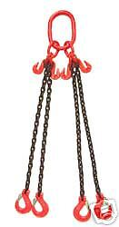Four (4) Leg Lifting Chain Sling 3.1T Safe working Load