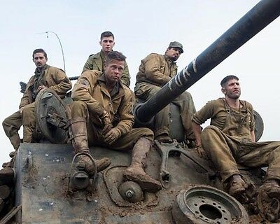 Fury [Brad Pitt / Shia LeBeouf & Cast] (55387) 8x10 Photo