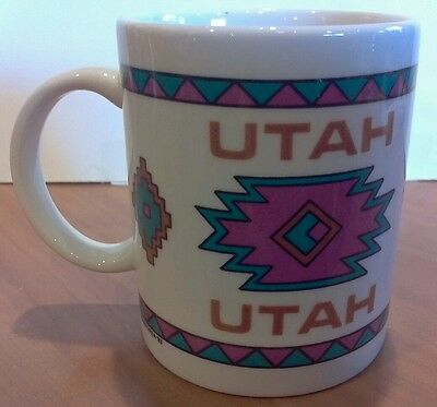 UTAH Collector Coffee Cup Mug with Design on Both Sides