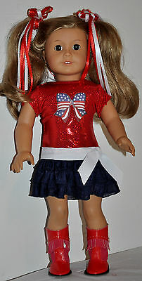 AMERICAN MADE DOLL CLOTHES FOR 18 INCH GIRL DOLLS DRESS LOT 00681