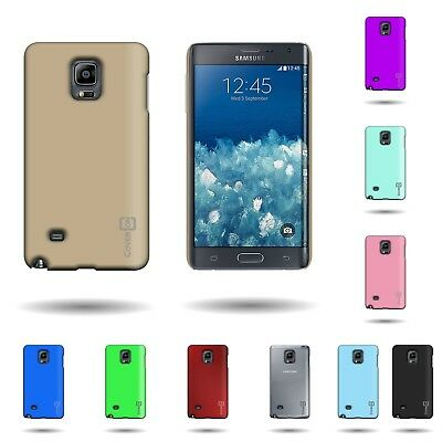 For Samsung Galaxy Note Edge Hard Rubberized Plastic Case Slim Snap-On Cover