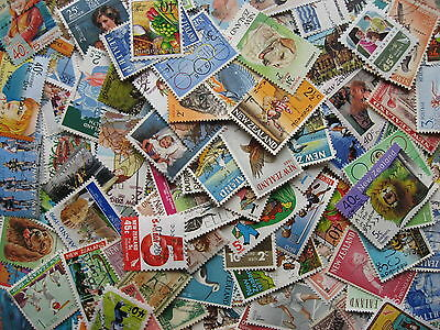 NEW ZEALAND over 100 different semi postal stamps, nice group, check them out!