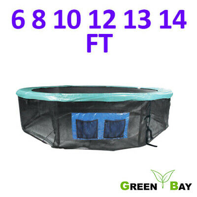 6FT 8FT 10FT 12FT 13FT 14FT Trampoline Base Skirt Safety Net Surround Greenbay