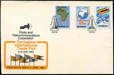Zimbabwe 1984 Int. Trade Fair FDC First Day Cover #C14279