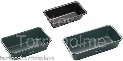 Masterclass Professional Seamless Non Stick Bread Baking Loaf Tin & Bar Cake Pan