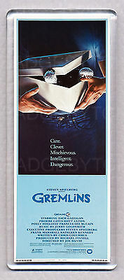 GREMLINS movie poster LARGE 'wide style' FRIDGE MAGNET - 80's CLASSIC!
