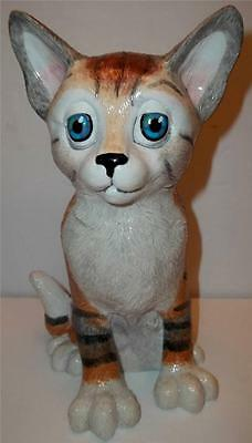 "Arora Pets With Personality MISSY THE CAT Tiger Striped 8"" Figure"