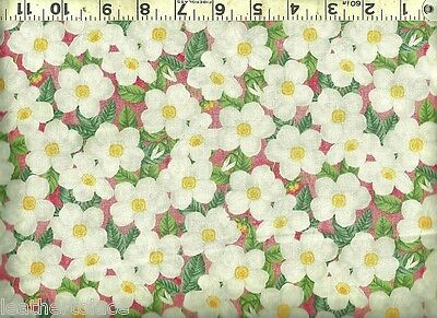 RAJ #36540-6 PINK FLORAL ON YELLOW  BY FRENCH BULL FOR WINDHAM FABRICS-BTY