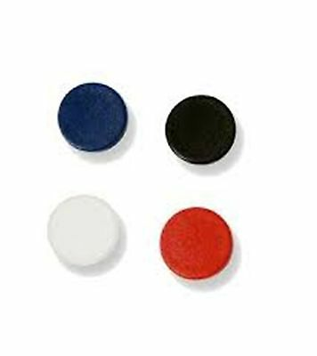 "11 Mastervision Im140909 White Board Assorted Circle Magnets, 3/4"" Diam  Sdc 015"