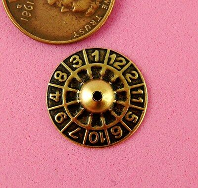 "VINTAGE DESIGN ANT BRASS ""ROULETTE WHEEL""-2 PC(s)"