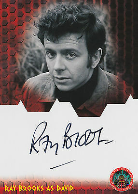 Dr Doctor Who And The Daleks AD 2150 Ray Brooks Autograph Card DWRB