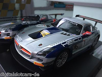 "CARRERA DIGITAL 124 23791 Mercedes-Benz SLS AMG GT3 ""Heico Motorsports, No.1"""