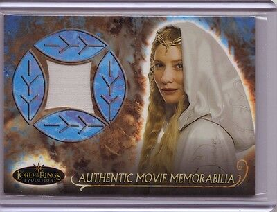 LOTR Lord Of The Rings Evolution Galadriel's Grey Havens Cloak costume card #1
