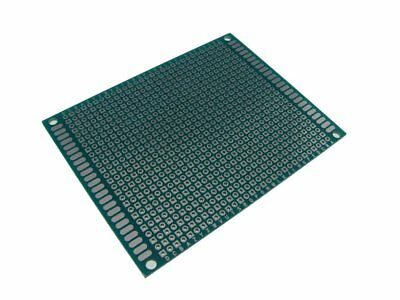 5PCS HQ 7*9cm Double Side Prototype Board Perforated 2.54mm Plated Breadboard