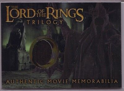 LOTR Lord Of The Rings Trilogy chrome The Witch-King's robe costume card #4