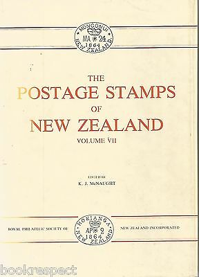 RARE Postage Stamps of New Zealand Vol VII 7 by McNaught 1988 1st Ed 708/1000