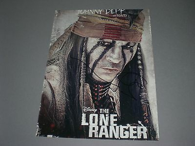 Johnny Depp  signed signiert autograph Autogramm auf 20x28 Foto in person
