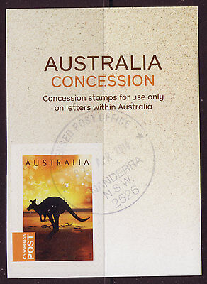 Australia 2014 Kangaroo Concession Stamp Fine Used