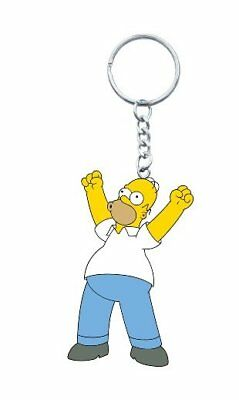 The Simpsons Homer With His Arms Out 3-D PVC Figural Keychain, NEW UNUSED