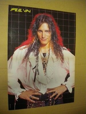 Poster Steve Vai (From Magazine) Cm 30 X Cm 42