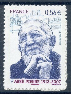 Stamp  / Timbre France Adhesif Neuf N° 389 ** Abbe Pierre / Pretre
