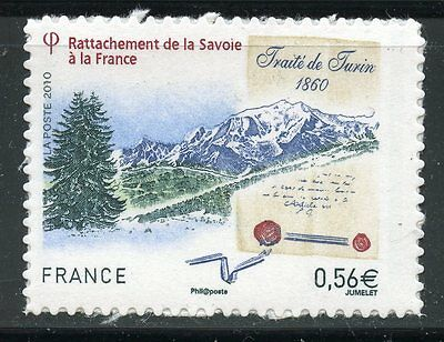 Stamp  / Timbre France Adhesif Neuf N° 415 ** Rattachement A La Savoie