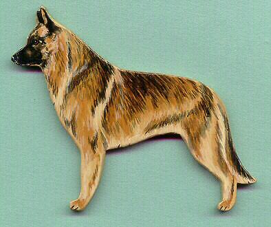 BELGIAN MALINOIS Wooden MEMO MAGNET- Hand Crafted!