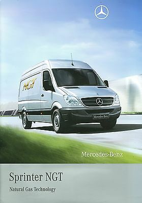 2009 Mercedes Sprinter Ngt Brochure