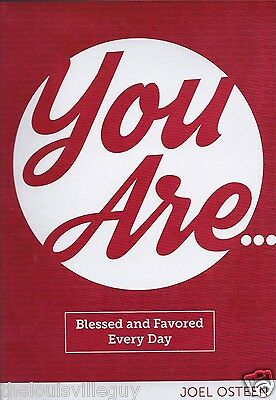 """You Are...Blessed and Favored Every Day"" Joel Osteen - 4 CDs & 1 DVD & Booklet"