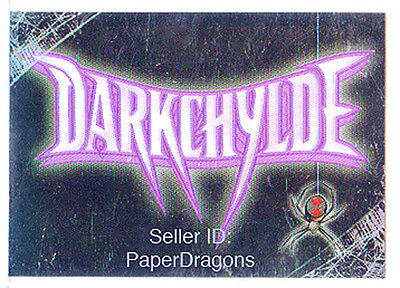 DARKCHYLDE - Parallel Holochrome Sticker Chase Card - Pick one from many