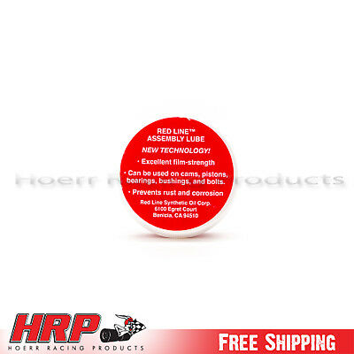 Red Line-Assembly Lube Jar (0.5 oz.) RED-80311